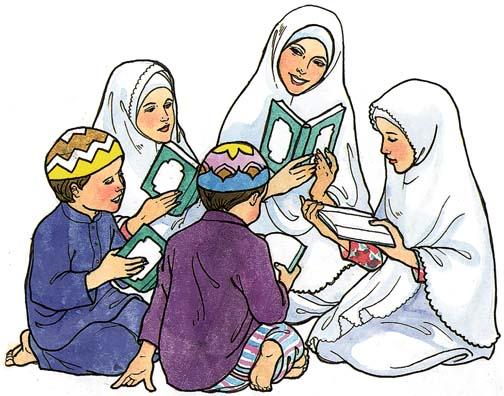 Рисунки мусульманина